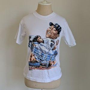 Vintage Dodgers baseball sports tee shirt